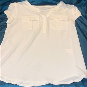 White front pocket T-shirt
